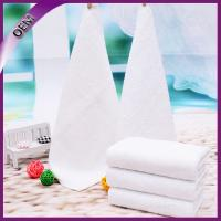 Quality high quality rolled cotton airline disposable face towel for sale