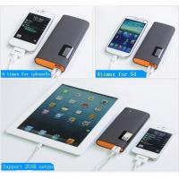 China Free sample gift portable mobile phone charger 12500mah on sale