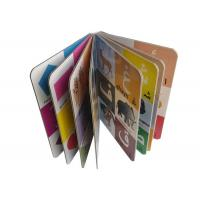 Quality Multi Color A3 Book Printing , Souvenir Book Printing Film Lamination for sale