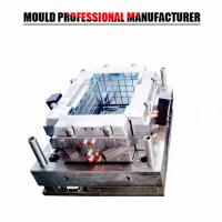 Quality injection molding products huangyan mould factory plastic injection crate mould for sale