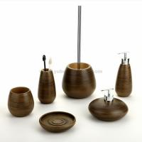 Quality wooden bathroom accessories for sale