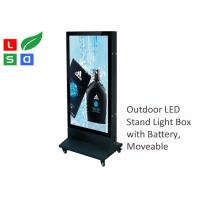 China Outdoor LED Poster Display 700x1000mm Double Sided With Super Bright LED Spot on sale