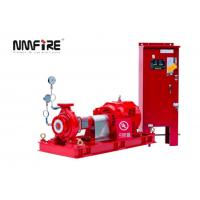 Buy cheap NM Fire UL / FM 500 GPM End Suction Fire Pump with Eaton Electric Control Panel from wholesalers