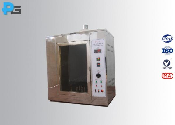 Buy IEC60695-2-20 Hot Wire Ignition Test Apparatus , Fire Hazard Testing Equipment at wholesale prices
