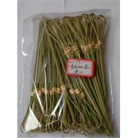 Buy cheap 18cm Natural Bamboo Picks Skewers BBQ Knotted Bamboo Appetizer Snack Skewers Party Accessories from wholesalers