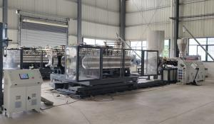 China plastic pipes machine production line for making new corrugated pipes on sale
