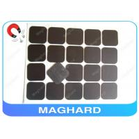 Best Square Flexible Rubber Magnet Sheets With Adhesive Diecut 4R 45 * 45 * 0.8mm wholesale