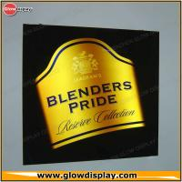 Buy cheap Blenders Pride Block Out Acrylic Lighted Led Sign Light Box Display from wholesalers