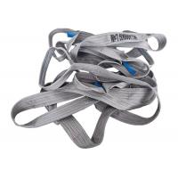 Buy cheap 100% Polyester Woven Lifting Belt Webbing Sling Grey Color CE Certification from wholesalers