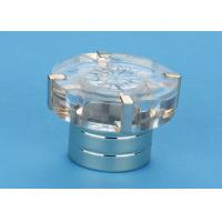 China Fashion Crystal Perfume Bottle Cap Surlyn For Aluminum Collar on sale