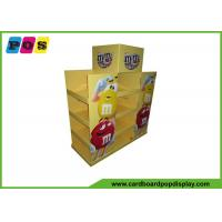 China Promotional Advertising Cardboard Pop Up Display For M&M Candies PA015 on sale