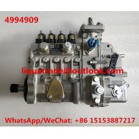 Buy CUMMINS fuel pump 4994909 , 10404716046 , 10 404 716 046 , CPES4PB110D120RS BYC at wholesale prices