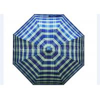 Antique 2 Fold Umbrella Parasol / Waterproof Bumper Cloth Sun Protection Umbrella
