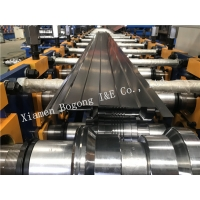 Quality 65mm Shaft RAL5015 Blue Ceiling Roll Forming Machine for sale