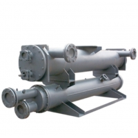 Quality Straight Type Shell Dry Expansion Type Evaporator stainless steel fin for sale