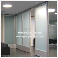 Quality Clear Glass Partition for Office Wall for sale