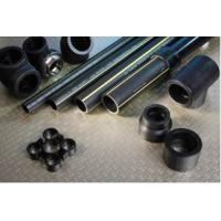 Quality polyethylene black PE gas pipe flexibility good, strong corrosion resistance for sale