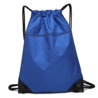 Quality Eco Friendly Outdoor Waterproof Bag / Drawstring Backpack With Front Zipper Pocket for sale