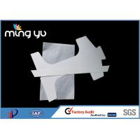 Best Double White T Shirt Cardboard Insert , Grey Back Support Cardboard Shirt Form wholesale