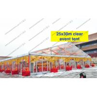 Quality Transparent Roof Clear Span Tent Glass Walls For Wedding / Party for sale