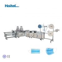 Quality Disposable 3 Ply Automatic Nonwoven Mask Making Machine for sale