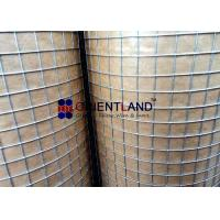 Quality Construction Wire Mesh Rolls , 1/2 Inch × 1/2inch Welded Metal Mesh Acid Resistance for sale