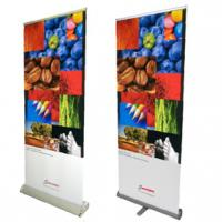 China Roll up banner stand on sale