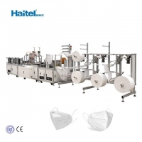 Quality Fully Automated 9kw N95 Mask Making Machine 40-60pcs/Min for sale