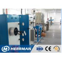 Quality Indoor Tight Buffered Fiber Optic Cable Production Line With Dry Tube for sale