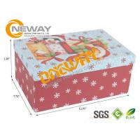 Best Colorful Printed Custom size Gift Card Boxes For Christmas , CMYK Or Pantone wholesale
