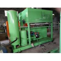 China Paper Pulp Molding Machine , Paper Egg Tray Making Machine With Computer Control on sale