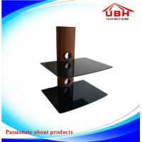 China 430*340mm double layer DVD wall mount with 5mm thickness glass/black and clear glass are availabe on sale