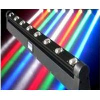 Quality Sound Activated 10W LED Moving Head Beam Light RGBW DMX Stage Light for sale