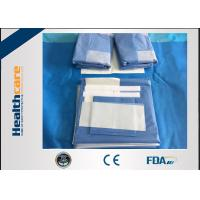 Quality SMMS Custom Surgical Packs Medical Angiography Pack With EO Gas Sterile for sale