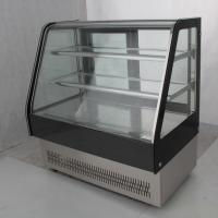 China R404a Cake Showcase Chiller Refrigerated Cake Display With Embraco Compressor on sale