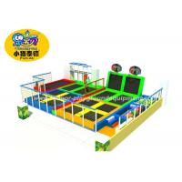 Buy cheap Soft Indoor Jumping Trampoline Parks With Many Games For Fitness from wholesalers