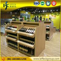 China Classic style beer liquor bottle display shelf wholesale on sale