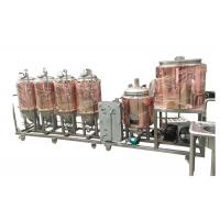 Automatic Control 4BBL Home Pub Equipment Electricity Heating For Beer Fermentation