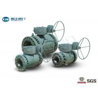 "Buy cheap Flange End Trunnion Ball Valve , API 6D Three Piece Ball Valve 2"" - 42"" from wholesalers"