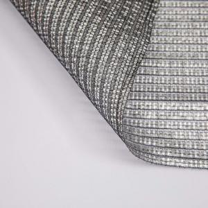 Quality aluminum silver plastic garden sun shade netting for sale