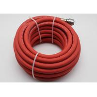 ID 8mm L 10m WP 20 BAR BP 60 BAR Rubber Air Hose , 1/4