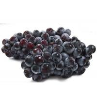 China Small Particles Delicious Taste Fresh Red / Black Grapes Fruit 23mm on sale