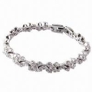 Quality 2012 Wholesale Elegant Crystal Diamond/Tennis Bracelets for sale
