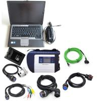 China MB Star C4 with software ssd and Laptop D630 MB C4 SD Connect Wireless Diagnose Scanner Professional Auto Diagnosis tool on sale
