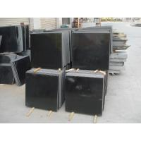 Quality high end narutal absolute black granite , vanity tops granite for kitchen for sale