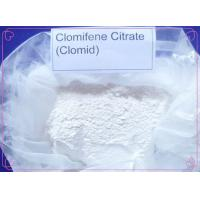 Buy cheap White Crystalline Powder Anti Estrogen Steroids , Hormone Clomid Oral Anabolic from wholesalers