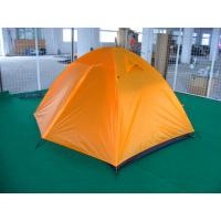 China double-layer  waterproof camping tent for 1-2 person dome tent igloo tent on sale