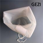 Quality Customized White Reusable Food Nut Milk Tea Fruit Juice Brew Wine Nylon Mesh Filter Bag for sale