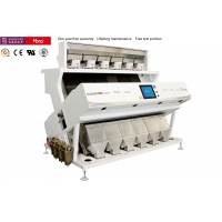 China Full Color Camera CCD Color Sorter 6 Chute Type With Power Less 3.6KW for sale