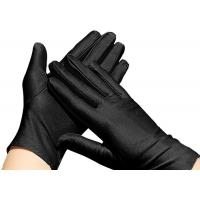 Quality Thickened Practical Working Hand Gloves , Wear Resistant Black Safety Gloves for sale